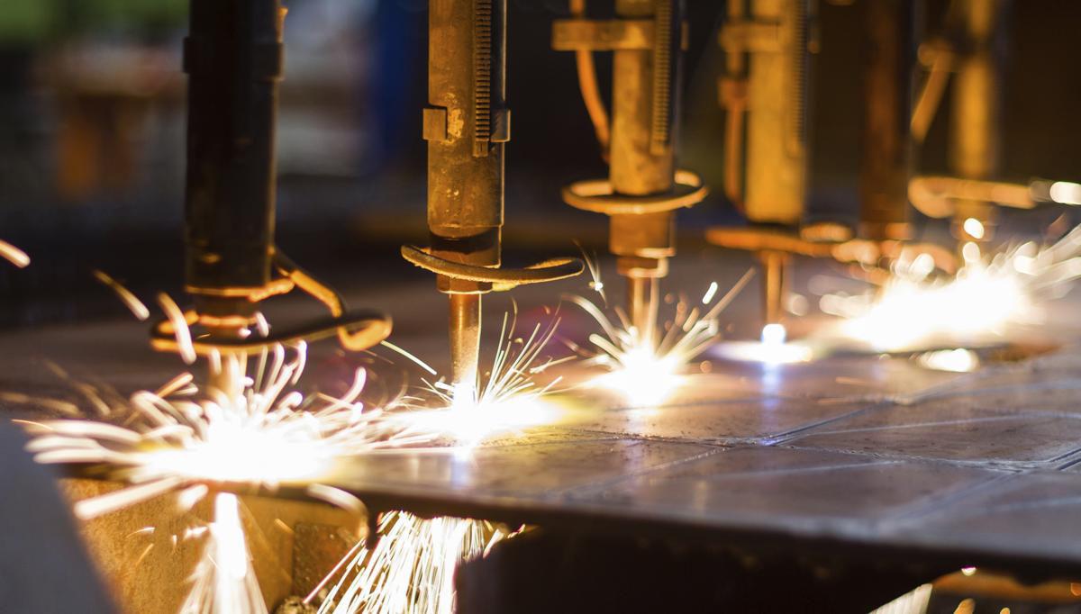 برش فلز با اکسیژن و هیدروژن