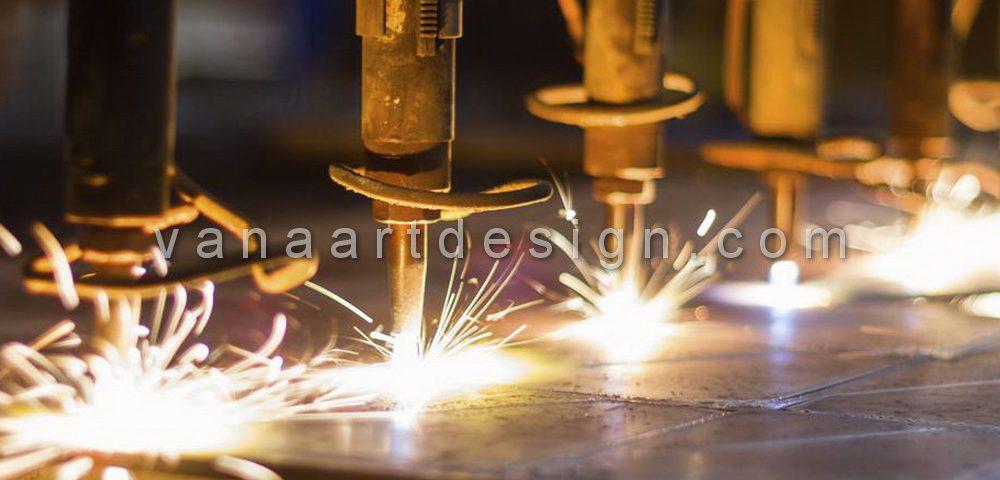 دستگاه CNC برش ورق با اکسیژن ، هیدروژن و هواگاز