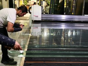 برش CNC شیشه